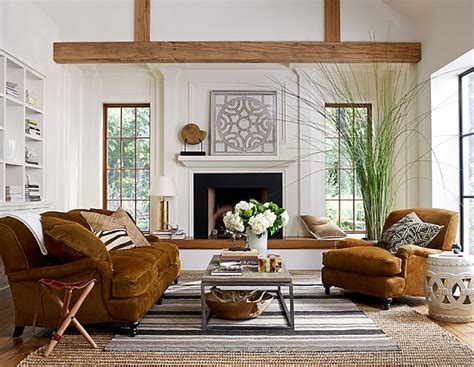 Modern Rustic Living Room | modern living room with rustic accents several proposals