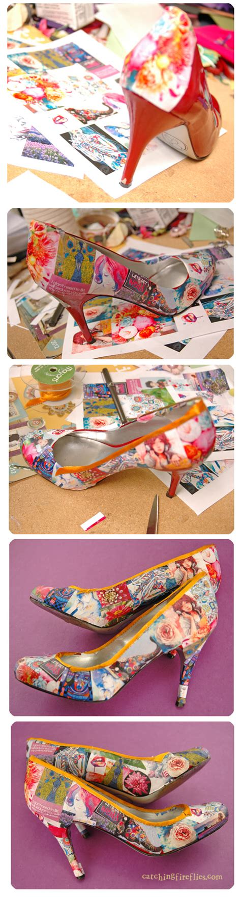 how to decoupage shoes how to decoupage shoes creative gift ideas news at