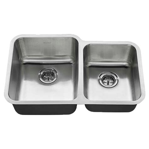 standard kitchen sinks discontinued standard undermount 31x20 offset bowl sink