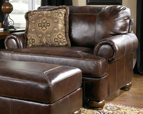 ashley furniture chair and a half recliner axiom walnut chair and a half by ashley furniture