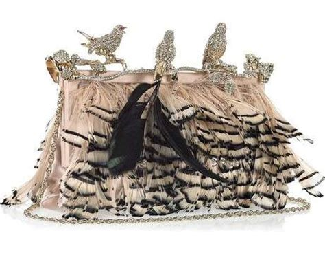 Valentino Feather Clutch by 113 Feathered Fashion Finds