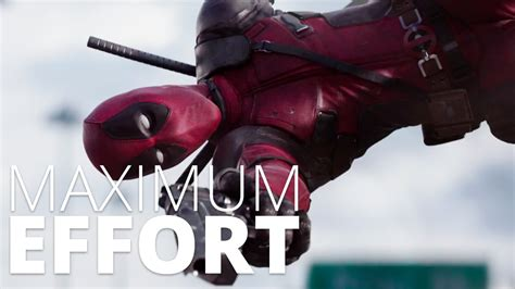 Maximum Effort deadpool maximum effort