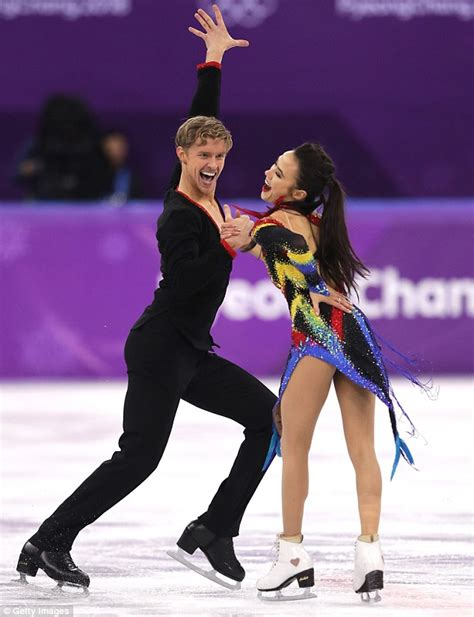 ice skateing duos usa olympic ice dancing duo reveal how they train at home
