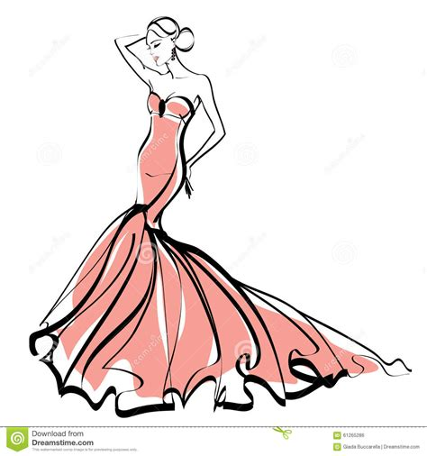 fashion illustration rates evening gown fashion sketches image top wedding gowns japaneseyenexchangerate info