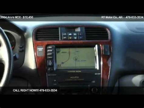 acura mdx navigation system not working 2004 acura mdx touring with navigation system for sale