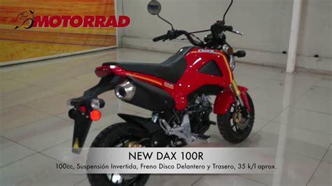 Motorrad Dax Chile by Dax 100r Youtube