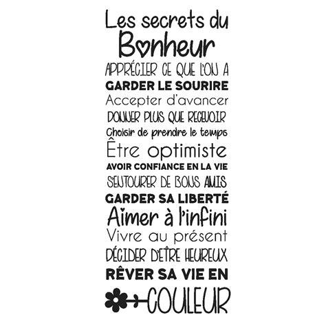 le ministre du bonheur 9782072727320 sticker citation les secrets du bonheur stickers citations fran 231 ais ambiance sticker