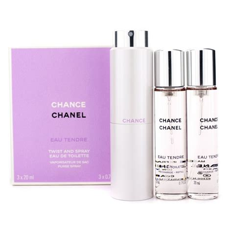 Parfum Original Chanel Chance Eau Tendre For Edt 100ml chanel new zealand chance eau tendre twist spray edt by chanel fresh