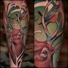 tattoos deer on pinterest deer tattoo stag tattoo and
