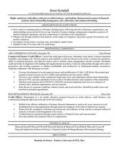Collections Resume by Free Credit Officer Resume Exle