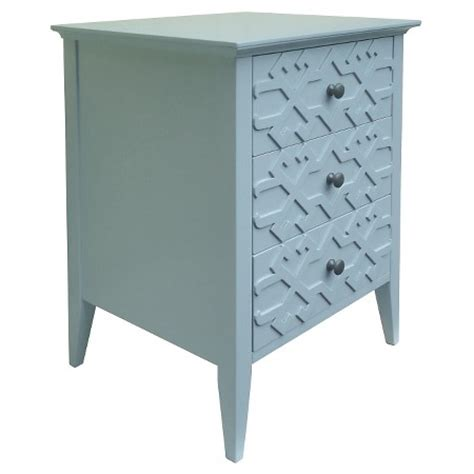 fretwork accent table threshold target