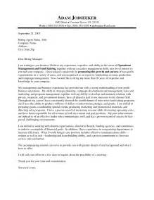 Cover Letter Template Non Profit Executive Director Cover Letter Sle Recentresumes