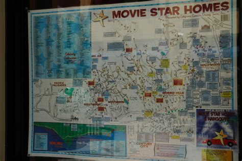 hollywood celebrities map los angeles celebrity homes map afputra