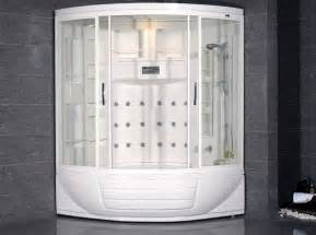 ameristeam zaa216 steam shower unit with whirlpool bathtub