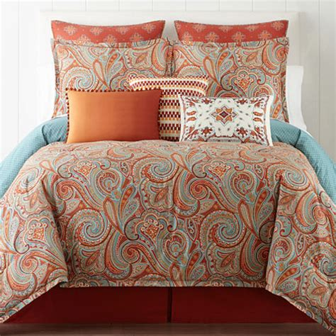 jcpenneys bedding jcpenney home morocco 4 pc comforter set jcpenney