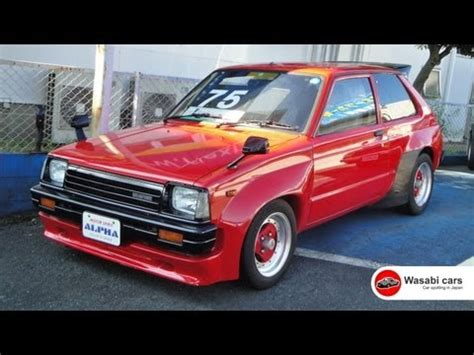 toyota car yard in a car yard a 1983 toyota starlet dx kp61 trd n2