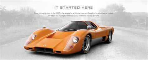 the great history of mclaren automotive ruelspot
