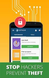 dfndr: antivirus, booster & cleaner android apps on