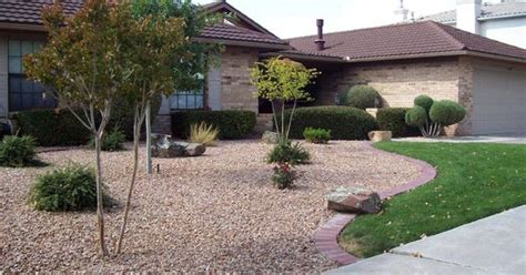 front yard xeriscape xeriscape landscaping lawn for less maintenance