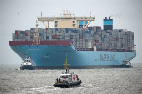 biggest shipping vessel in the world the largest container ship in the world for now buy a