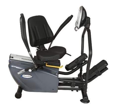 elliptical with seat recumbent exercise bike hci fitness physiostep recumbent