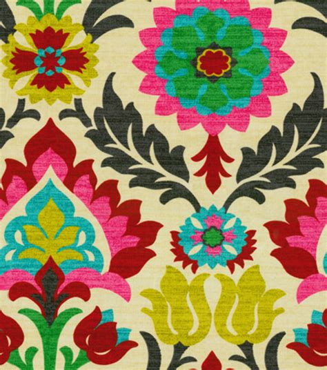 print fabric home decor print fabric waverly santa desert flower jo