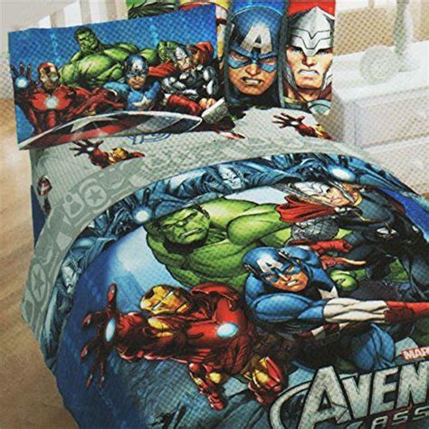 superhero comforter full 5pc marvel comics avengers full bedding set superhero halo