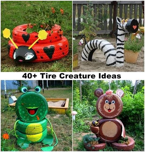 garden craft ideas 33 best images about diy recycled upcycled tire