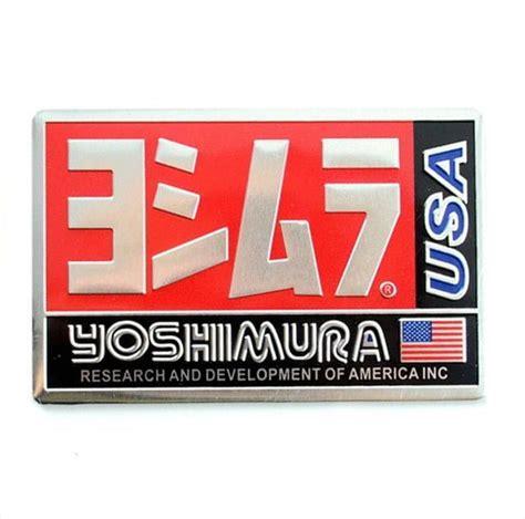 yoshimura alueminyum kare sticker kaan elektronik