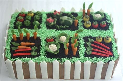 Vegetable Garden Cake Vegetable Garden Cake Gardening Cake Ideas