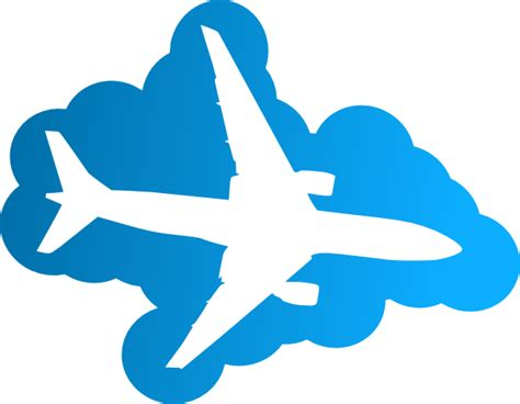aereo clipart plane silhouette clip at clker vector clip
