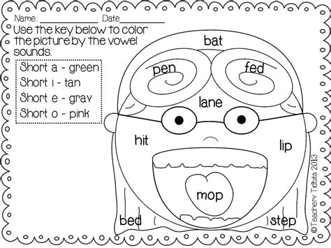 coloring pages for vowels free coloring pages of and vowel u
