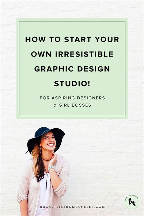 how to start your own irresistible graphic design studio