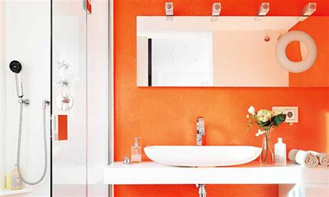 orange bathroom ideas decor and accessories burnt