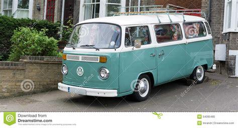 van volkswagen vintage vintage vw cer van editorial image image 54095480