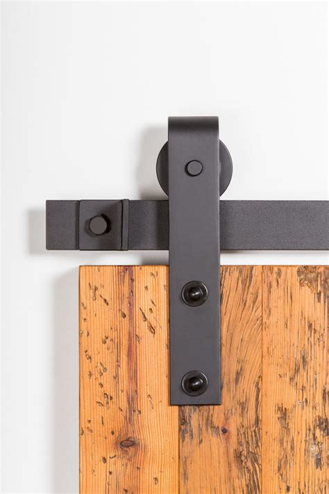 402 Flat Track Hardware Kit Barndoorhardware Com Barn Door Hardware
