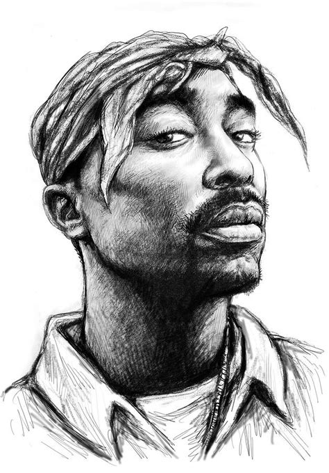 Drawing 2pac drawing tupac quotes quotesgram