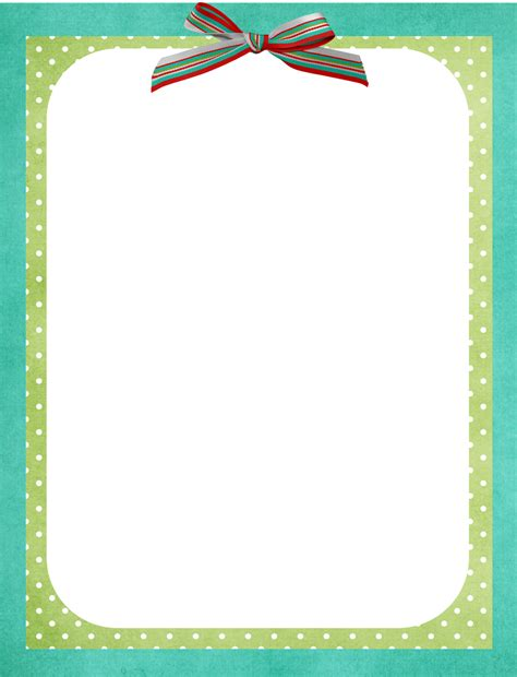 free border template all things nice pinterest