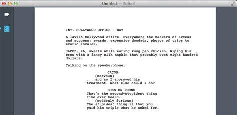 screenwriting templates image gallery screenwriting template