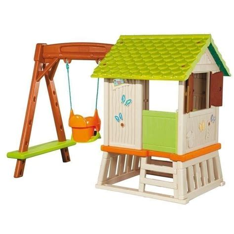 Balancoire Smoby by Smoby Maison Foresti 232 Re Enfant Cabane Portique Achat