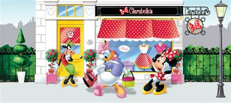 Minnie Mouse Wall Murals wall mural wallpaper disney minnie mouse daisy duck