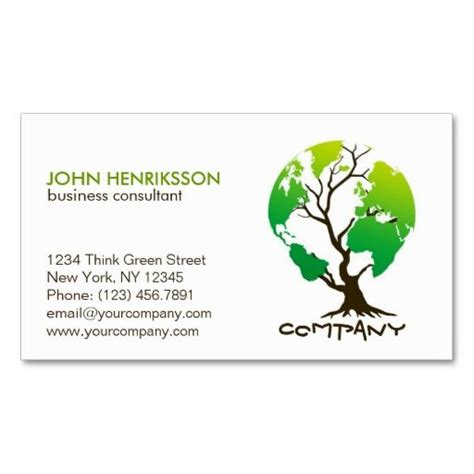 eco business card templates 17 best images about eco green business card templates on