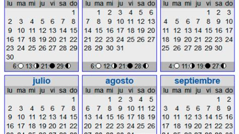 calendario lunar embarazo para 2016 calendario lunar 2016 elembarazo net
