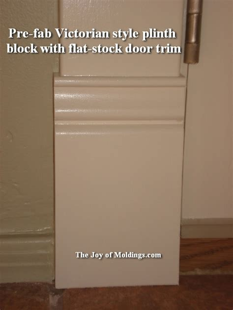 Ikea Entryway Hack 10 plinth block victorian painted the joy of moldings com