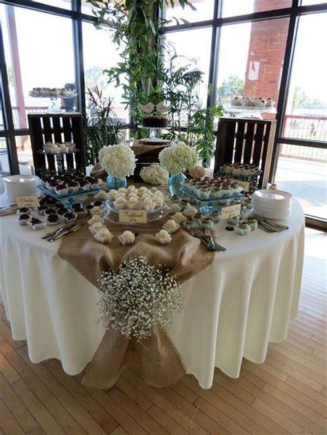ideas  rustic wedding tables  pinterest