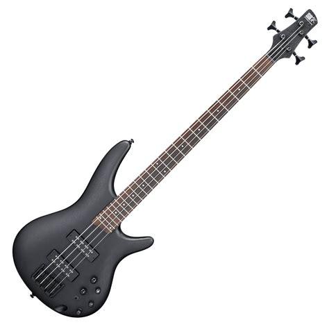 Bass Sting Black ibanez sr300eb bass guitar weathered black at gear4music