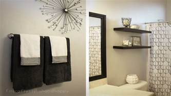 black and white bathroom decor galleryhip com the how to decorate large bathrooms bonito designs