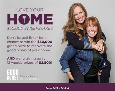hgtv s love your home sweepstakes giveaway gorilla - Love Your Home Sweepstakes