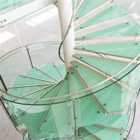 Stair Banisters 19 Contemporary Glass Stair Railing Ideas Photos