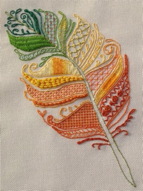 design for embroidery stitches 1000 ideas about feather pattern on pinterest feathers